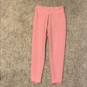 Pink pattern leggings from SHEIN